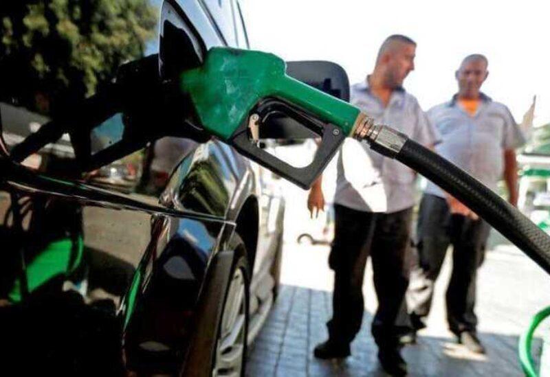 Une station de carburant