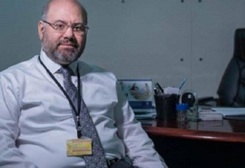 Le directeur de l'hôpital universitaire Rafic Hariri Dr. Firas Abiad