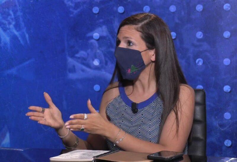 """Dr """"Petra Khoury"""" conseillère du Premier ministre intérimaire pour les affaires sanitaires et présidente du comité exécutif pour les vaccins"""