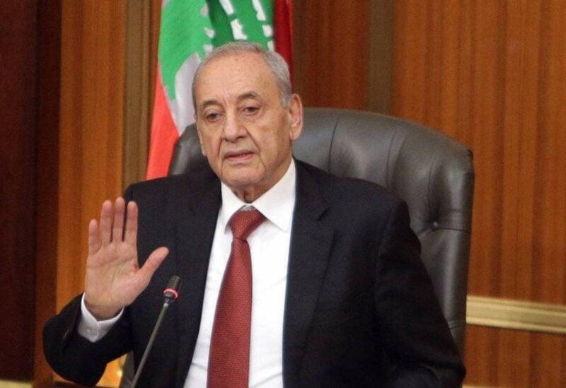 Le président du Parlement Nabih Berri