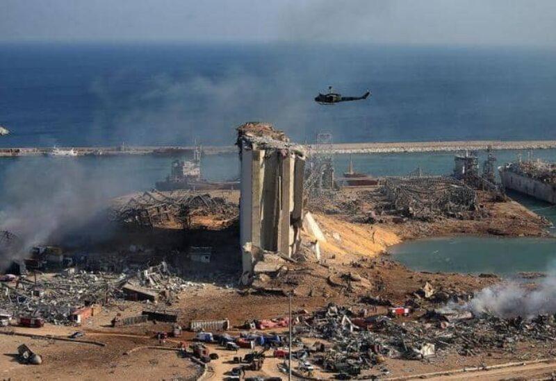 L'explosion du port de Beyrouth