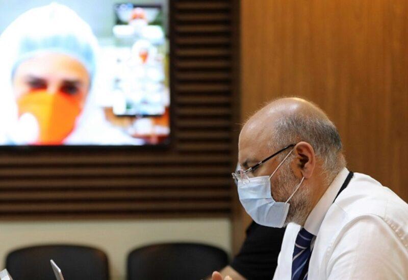 """Le directeur de l'Hôpital universitaire gouvernemental de Beyrouth"""" le Dr Firas Abyad"""