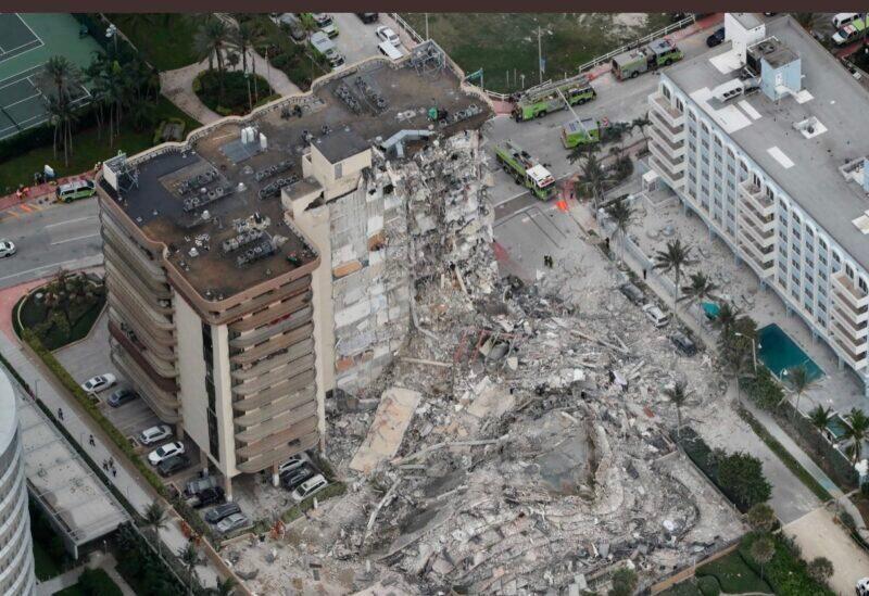 Effondrement d'un immeuble à Miami
