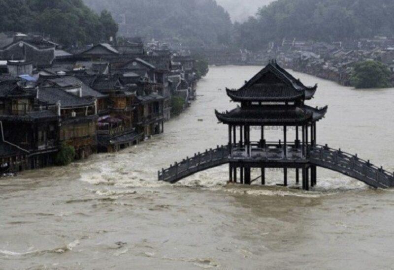 Des pluies intenses en Chine