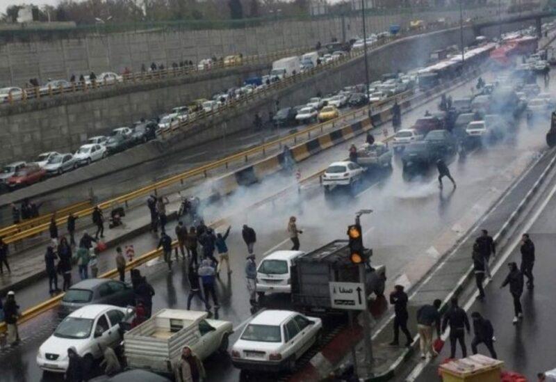 Manifestations en Iran - archives