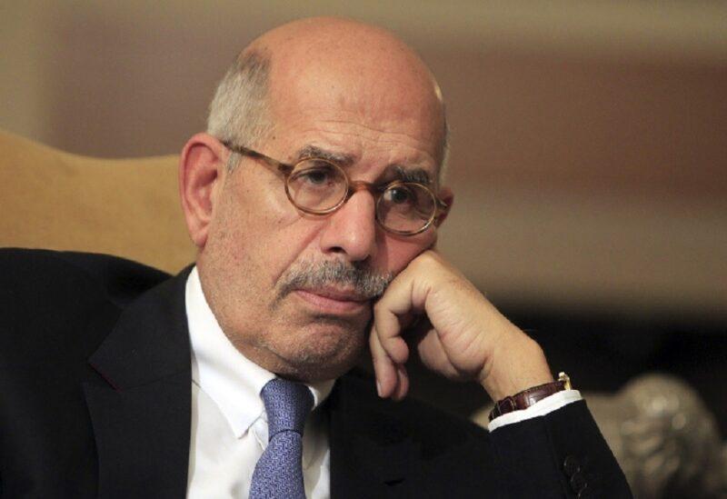 L'ancien vice-président égyptien Mohamed ElBaradei