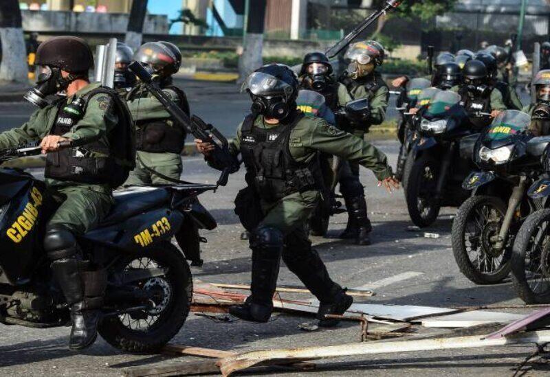 La police vénézuélienne