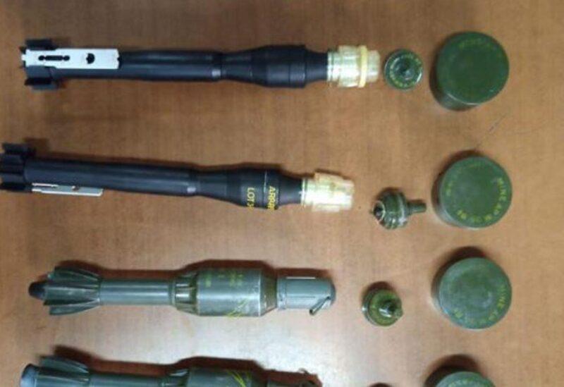 La découverte des obus et des mines