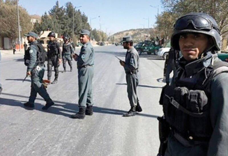 Les forces afghanes