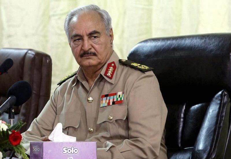 Le commandant en chef de l'armée nationale libyenne le maréchal Khalifa Haftar
