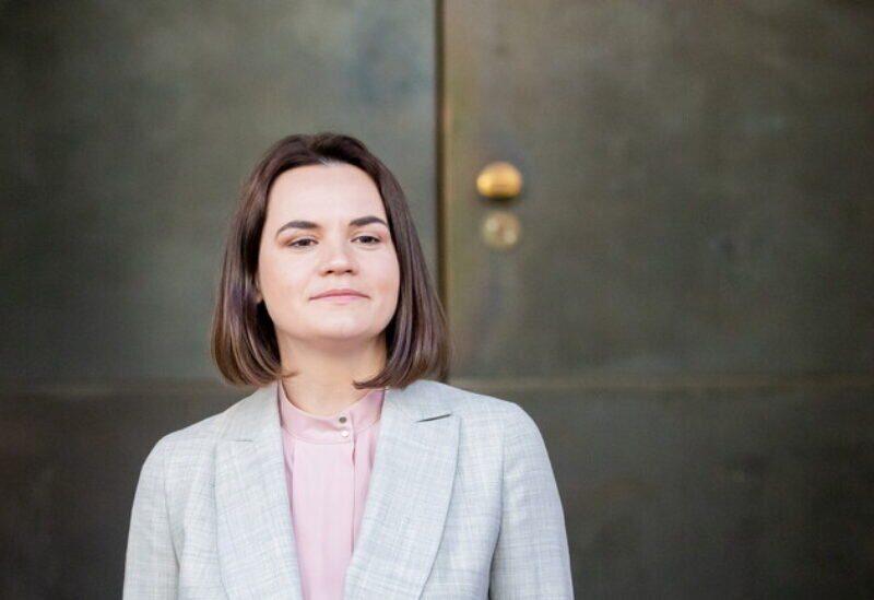 L'opposante biélorusse Svetlana Tikhanovskaya