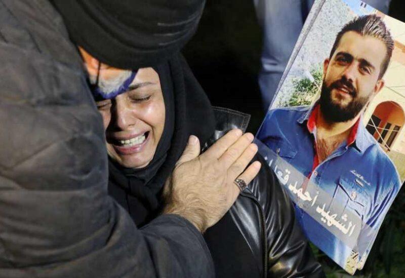 Les familles des martyrs du port
