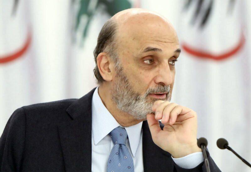 Le chef du parti des Forces libanaises Samir Geagea