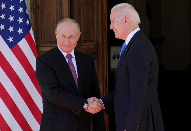 Joe Biden et Vladimir Poutine