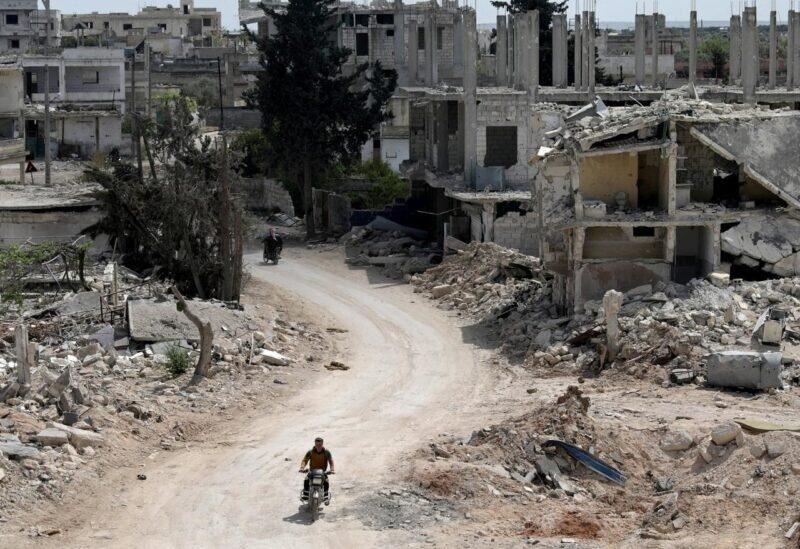 La destruction en Syrie