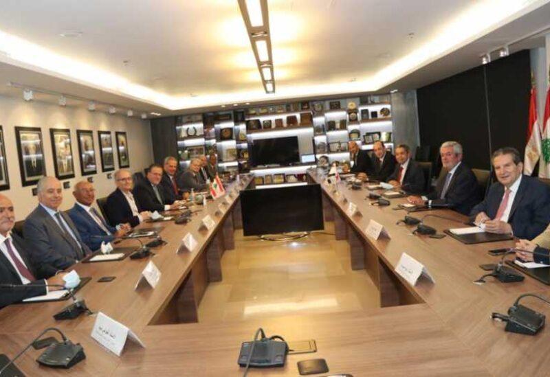 Choucair a reçu une délégation de la Fédération générale des chambres de commerce égyptiennes