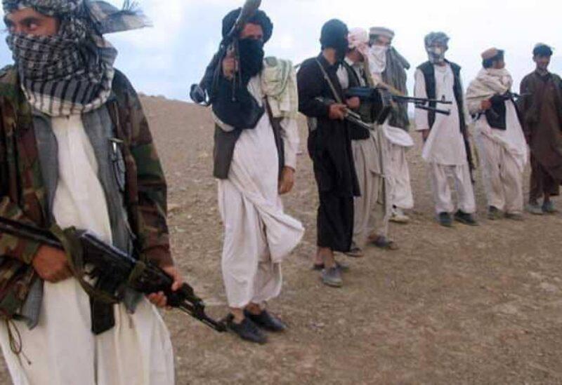 Les militants du groupe Taliban