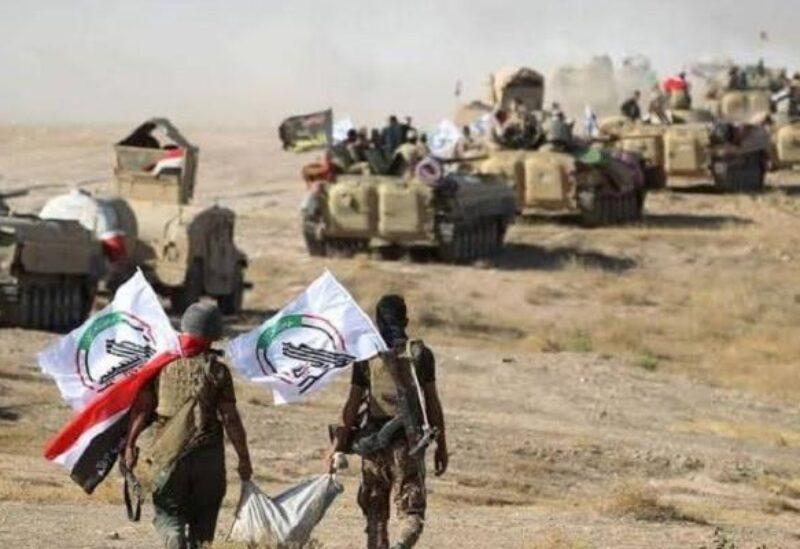 Membres de la milice de mobilisation populaire en Irak