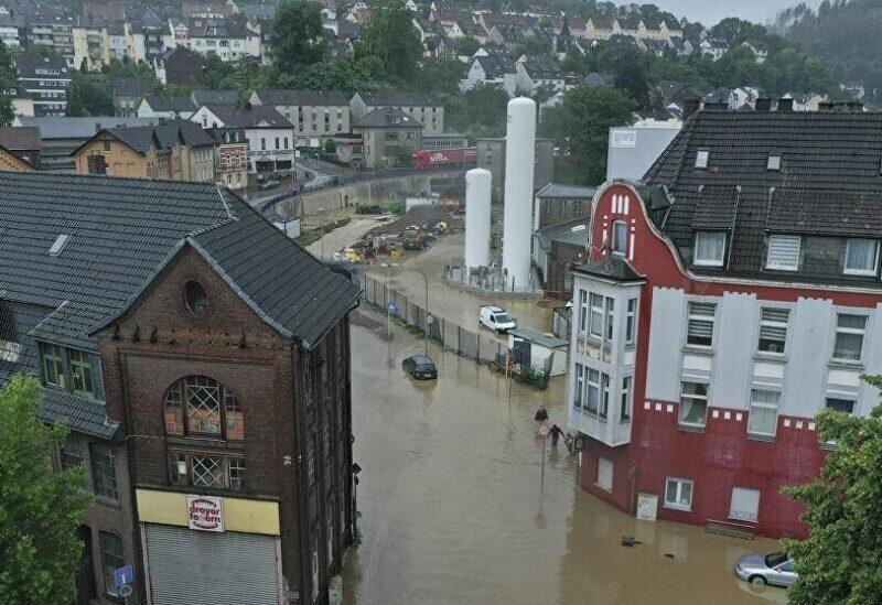 Les inondations en Europe