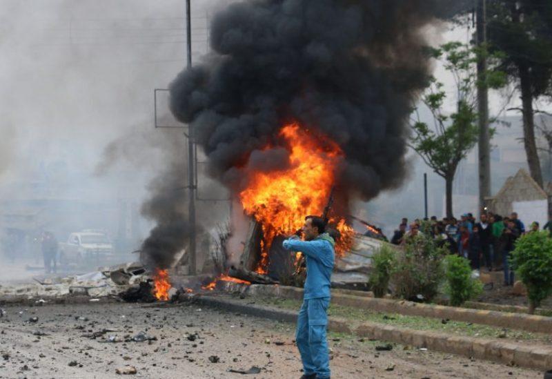 Des morts et des blessés dans l'explosion d'une voiture dans le nord de la Syrie