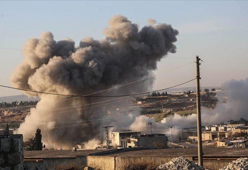 Bombardement d'Idlib - archives