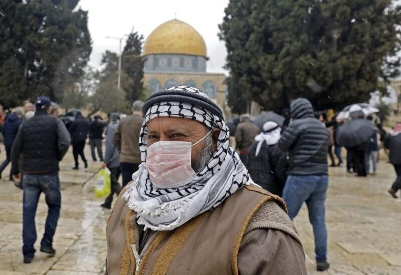 Corona en Palestine