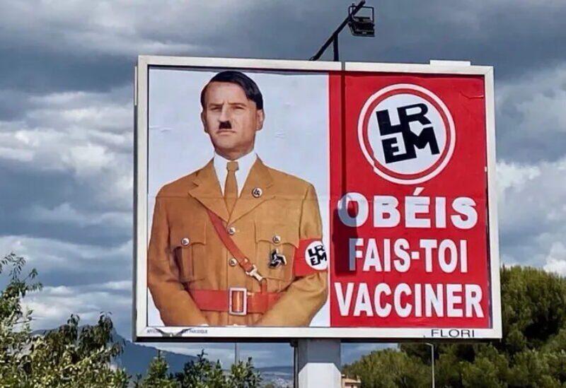 Macron-Hitler