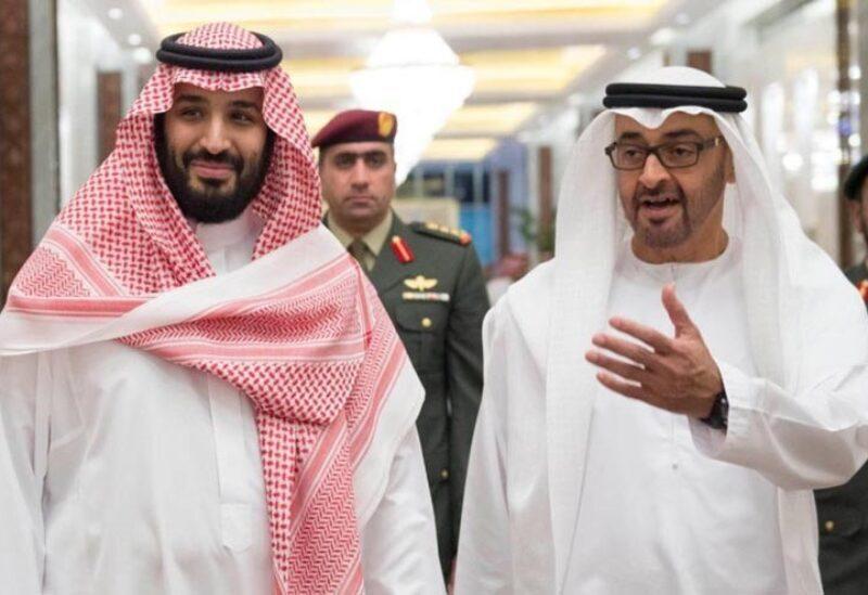 Mohammad bin Zayed et Mohammad bin Salman