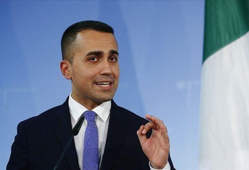 Le ministre italien des Affaires étrangères Luigi Di Maio
