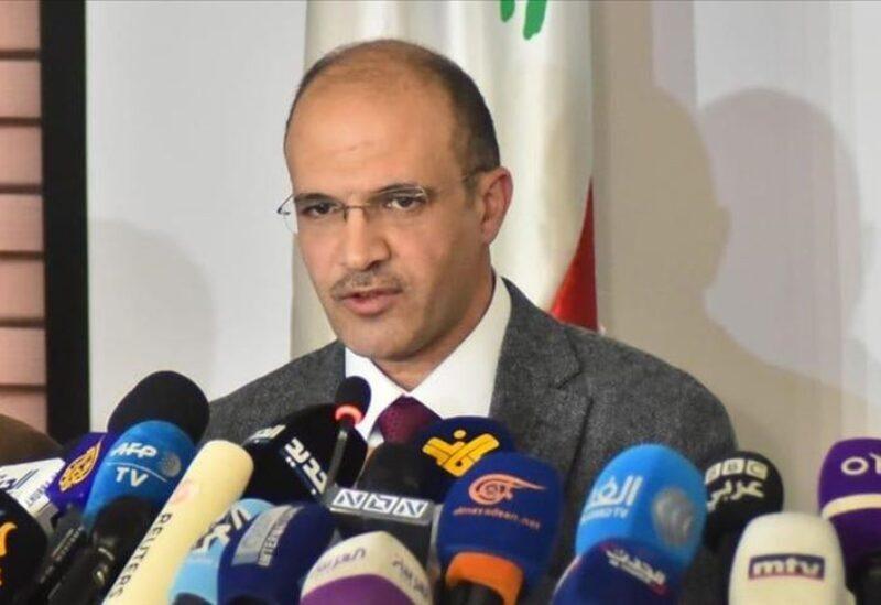 Le ministre de la Santé publique, Hamad Hassan