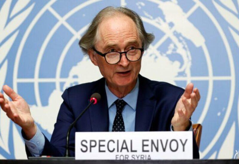 L'envoyé spécial de l'ONU pour la Syrie Geir Pedersen