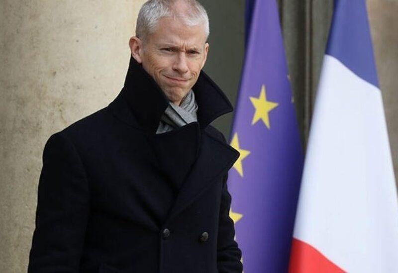 Le ministre délégué en charge du Commerce extérieur et de l'Attractivité Franck Riester