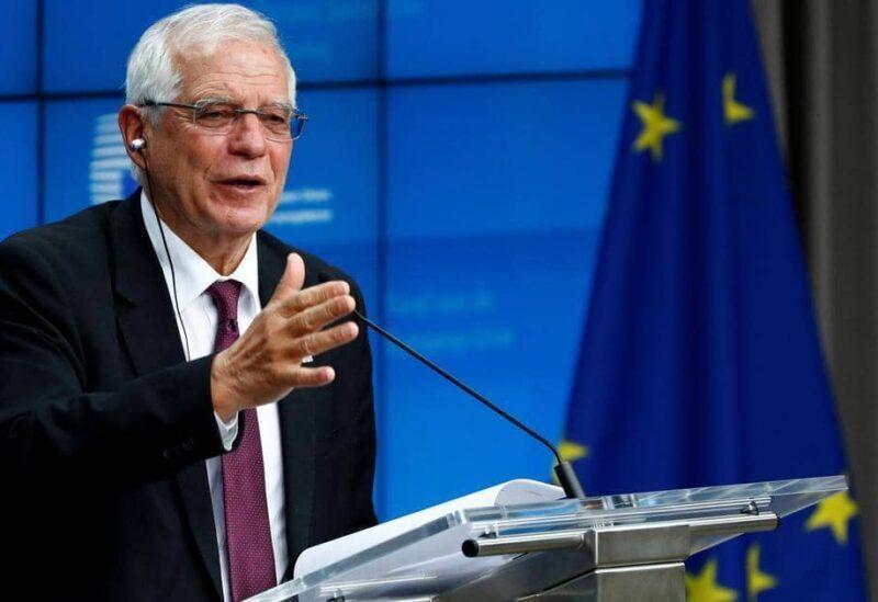 Le responsable de la politique étrangère de l'Union européenne Josep Borrell