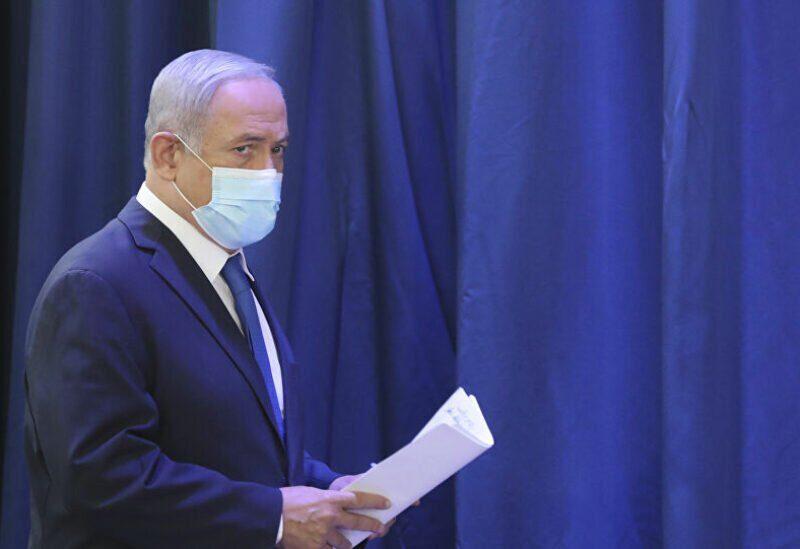 L'ancien Premier ministre israélien Benjamin Netanyahu