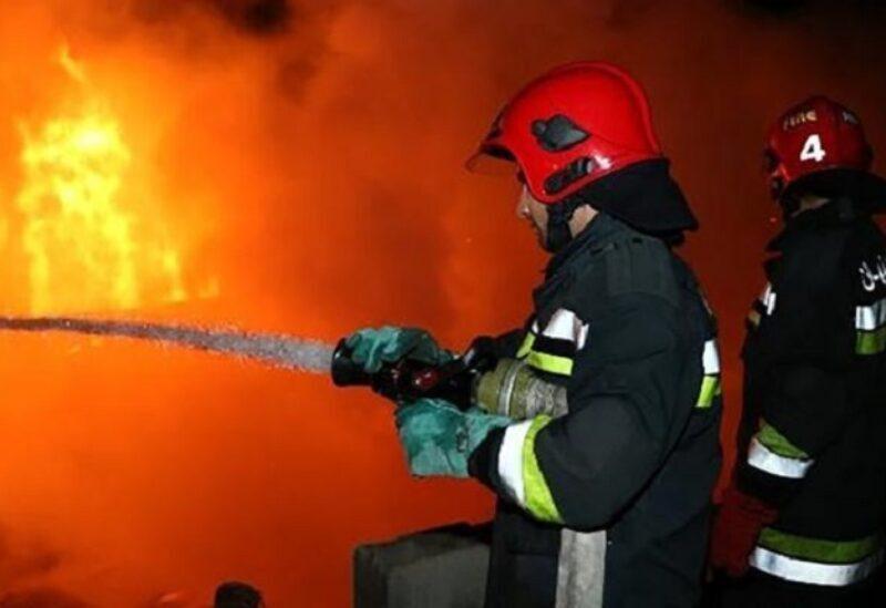 Des pompiers iraniens- Archives