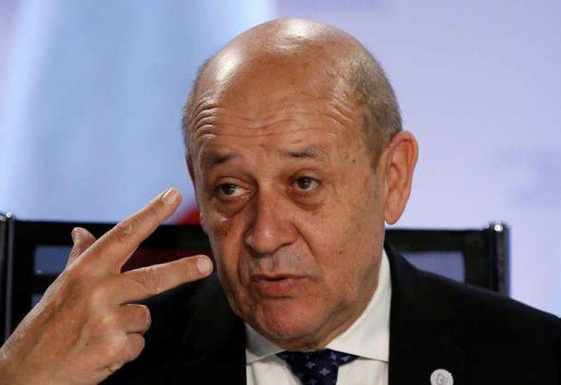 Le ministre français des Affaires étrangères Jean-Yves Le Drian
