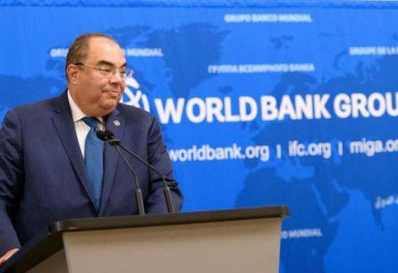Le directeur exécutif du Fonds monétaire international (FMI) Mahmoud Mohieldin