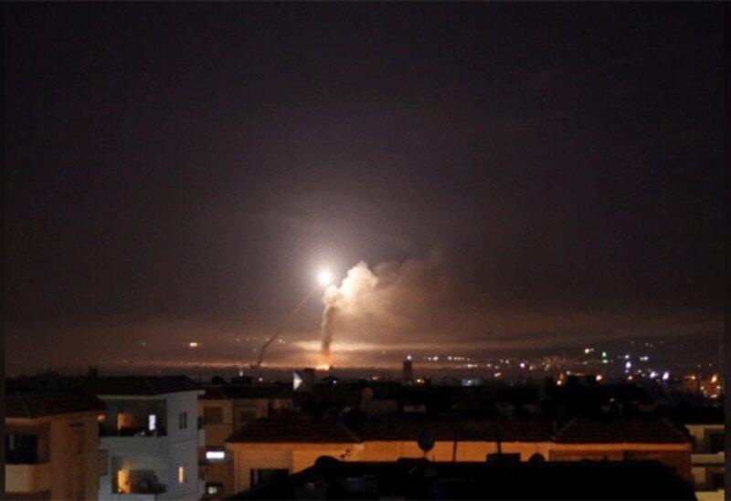 Bombardement de sites militaires en Syrie