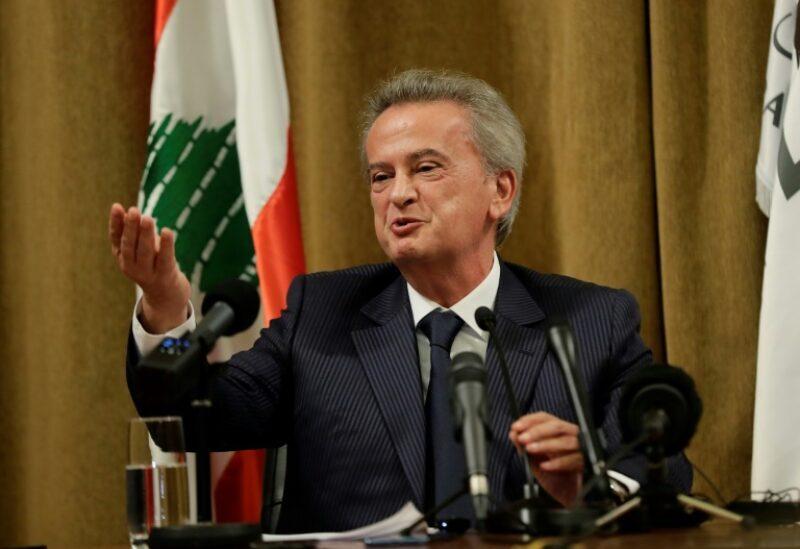 Le gouverneur de la Banque du Liban Riad Salameh