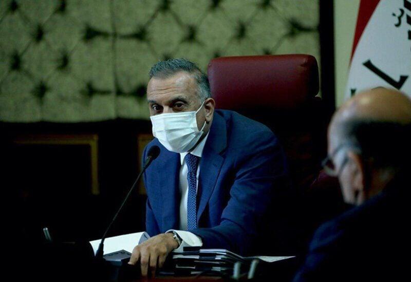 Le Premier ministre irakien Mustafa Al-Kazemi