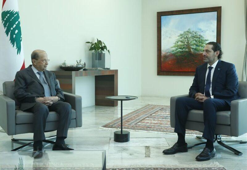 Hariri et Aoun