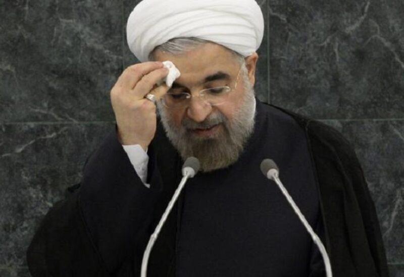 Le président iranien sortant Hassan Rouhani