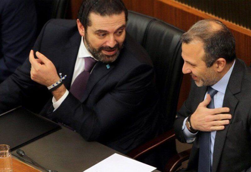 Saad Hariri et Gebran Bassil