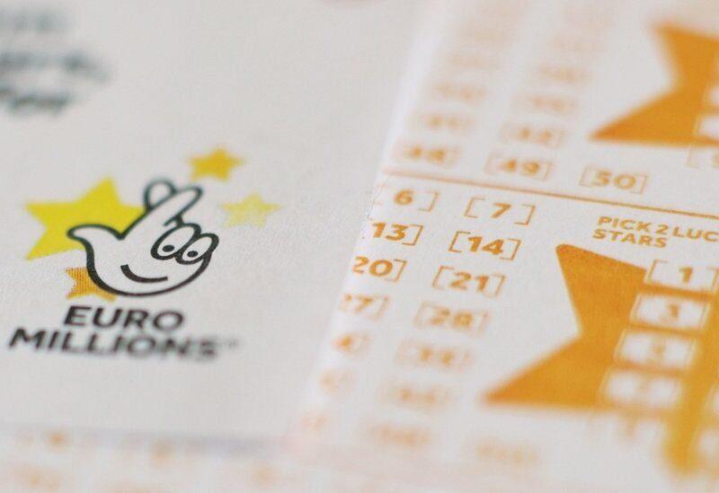 Carte de loterie