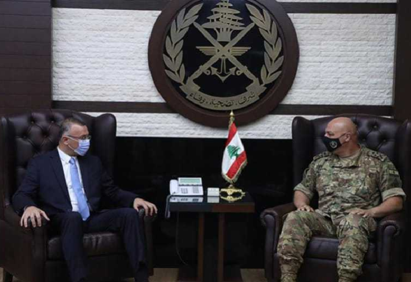Darwish et Joseph Aoun