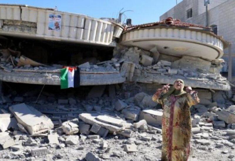 Démolition de la maison du prisonnier Montaser Chalabi en Cisjordanie