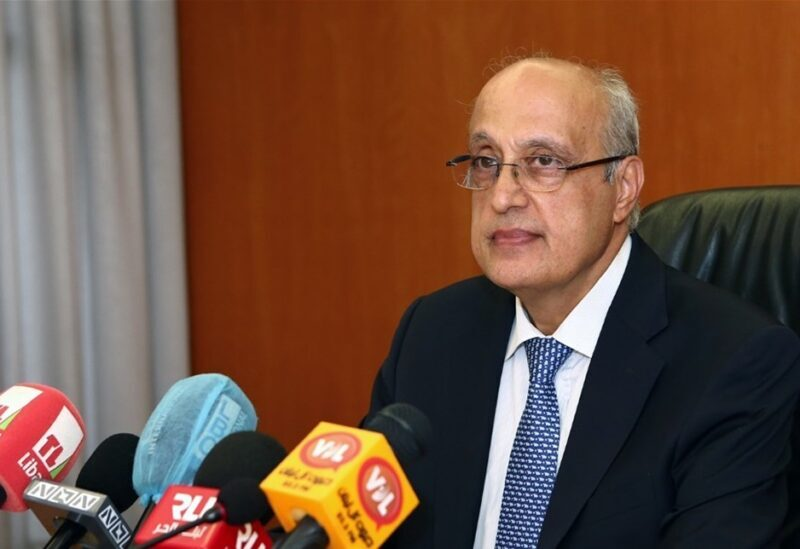 Le chef du Syndicat des médecins libanais à Beyrouth Sharaf Abu Sharaf