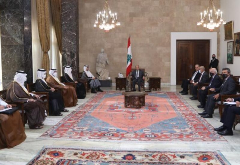 Le président Aoun reçoit le ministre qatari des Affaires étrangères