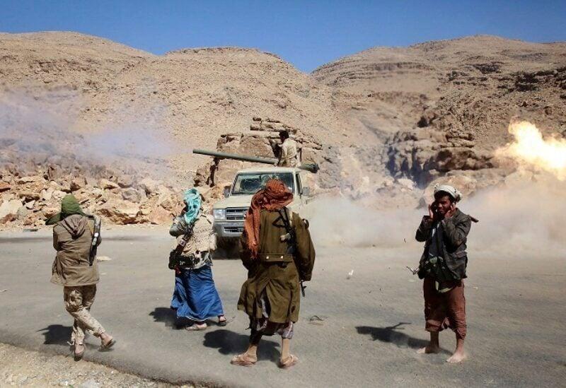 Éléments de la milice al Houthi