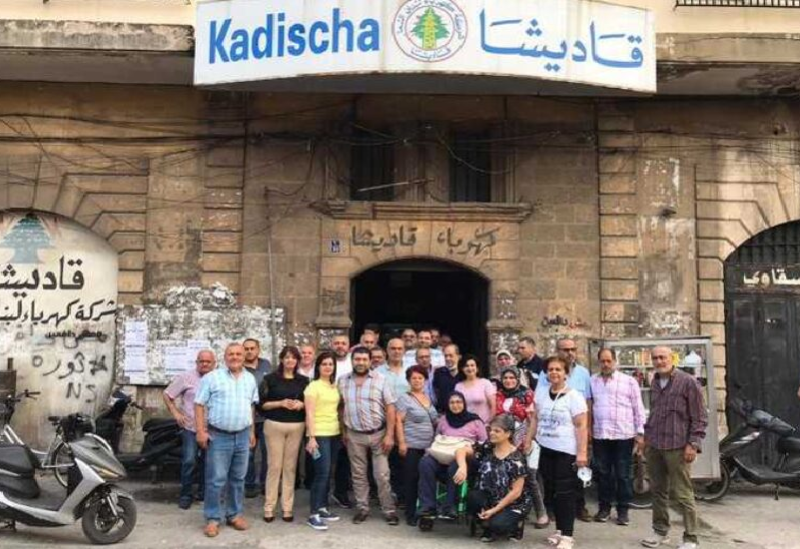 Employés de la société Qadisha